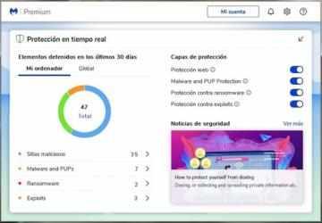 Screenshot 2 de Malwarebytes para windows