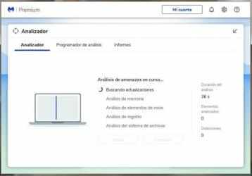 Captura de Pantalla 3 de Malwarebytes para windows