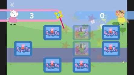 Captura 2 de Peppa Pig Memory Game para windows