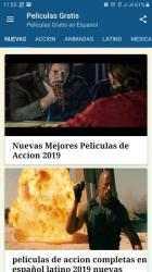 Captura de Pantalla 2 de Películas Gratis en Español Latino Completas para android
