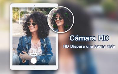 Screenshot 3 de Cámara profesional HD con cámara de belleza para android