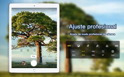 Screenshot 4 de Cámara profesional HD con cámara de belleza para android