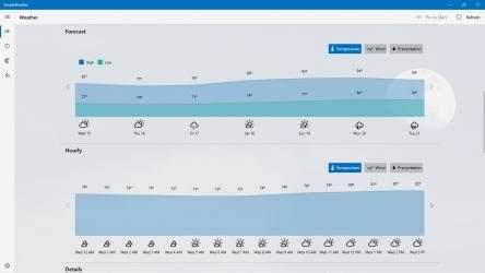 Captura 7 de SimpleWeather - A simple weather app para windows