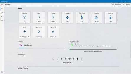 Screenshot 8 de SimpleWeather - A simple weather app para windows