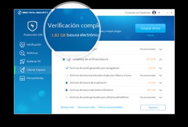 Screenshot 4 de 360 Total Security para windows
