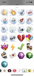 Screenshot 2 de Pack de stickers de Los Sims™ para iphone