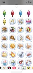 Captura de Pantalla 1 de Pack de stickers de Los Sims™ para iphone