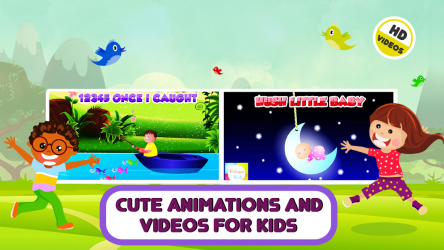 Captura 9 de Top 25 Nursery Rhymes Videos - Offline & Learning para android
