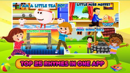 Captura 12 de Top 25 Nursery Rhymes Videos - Offline & Learning para android