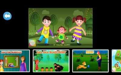 Captura de Pantalla 7 de Top 25 Nursery Rhymes Videos - Offline & Learning para android