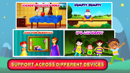 Captura 11 de Top 25 Nursery Rhymes Videos - Offline & Learning para android