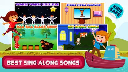 Captura de Pantalla 10 de Top 25 Nursery Rhymes Videos - Offline & Learning para android