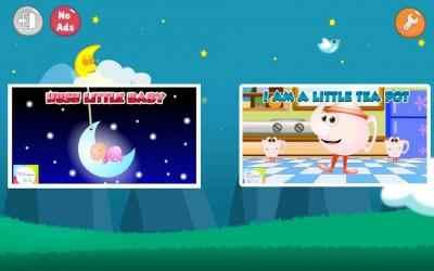 Screenshot 14 de Top 25 Nursery Rhymes Videos - Offline & Learning para android