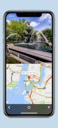 Screenshot 1 de We Camera 03   Street View App para iphone