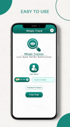 Imágen 6 de Whats Online Last Seen Tracker : Status Saver para android