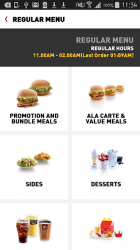 Screenshot 3 de McDelivery Saudi West & South para android