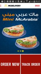 Captura de Pantalla 2 de McDelivery Saudi West & South para android