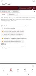 Captura 3 de Universidad de Murcia App para android