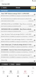 Captura de Pantalla 5 de Universidad de Murcia App para android