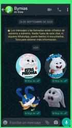 Captura de Pantalla 6 de Stickers de conejo Snowball para WhatsApp para android