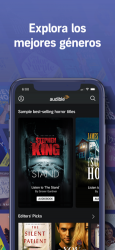 Captura de Pantalla 5 de Audible - Audiolibros para iphone