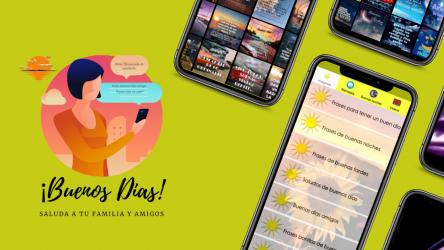 Captura de Pantalla 2 de Mensajes de buenos días para android