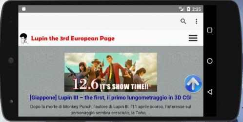 Imágen 4 de LEPapp - Lupin the 3rd European Page Official App para android