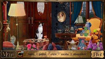 Screenshot 1 de Objetos Ocultos - Detective Sherlock Holmes. Juego de aventura gratis para windows