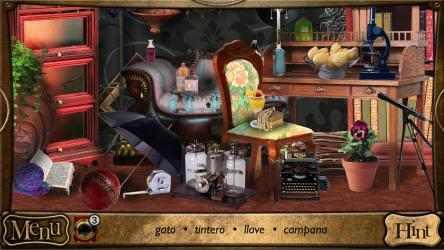 Captura 5 de Objetos Ocultos - Detective Sherlock Holmes. Juego de aventura gratis para windows