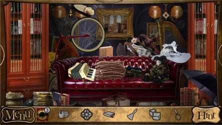 Captura de Pantalla 9 de Objetos Ocultos - Detective Sherlock Holmes. Juego de aventura gratis para windows