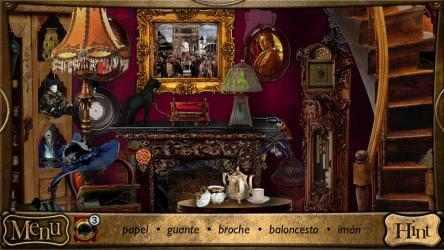 Captura 2 de Objetos Ocultos - Detective Sherlock Holmes. Juego de aventura gratis para windows