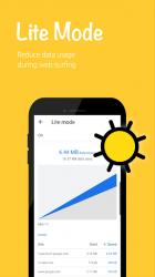 Captura de Pantalla 6 de Banana Browser (Ad Blocker, DNS over HTTP / HTTPS) para android