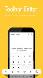 Screenshot 5 de Banana Browser (Ad Blocker, DNS over HTTP / HTTPS) para android