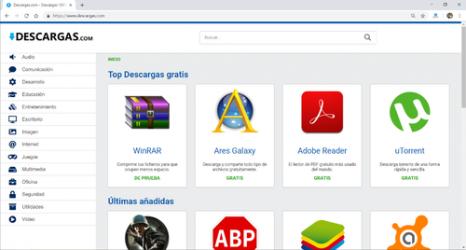 Captura de Pantalla 1 de Google Chrome para windows