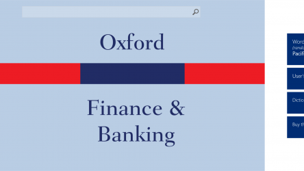 Imágen 1 de Oxford Dictionary of Finance and Banking para windows