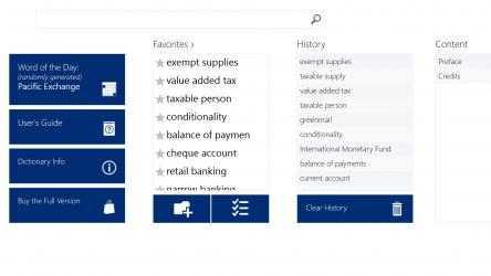 Screenshot 4 de Oxford Dictionary of Finance and Banking para windows