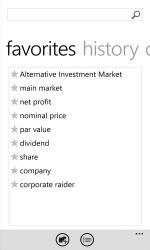 Captura de Pantalla 10 de Oxford Dictionary of Finance and Banking para windows