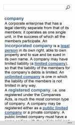 Screenshot 12 de Oxford Dictionary of Finance and Banking para windows