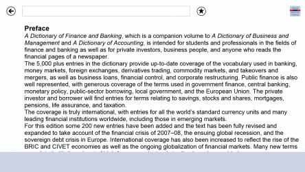 Imágen 6 de Oxford Dictionary of Finance and Banking para windows