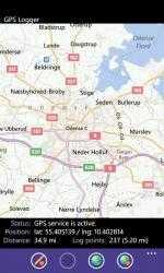 Captura 1 de GPS Logger para windows