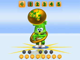 Imágen 10 de Talking Gummy Free Bear Games for kids para android
