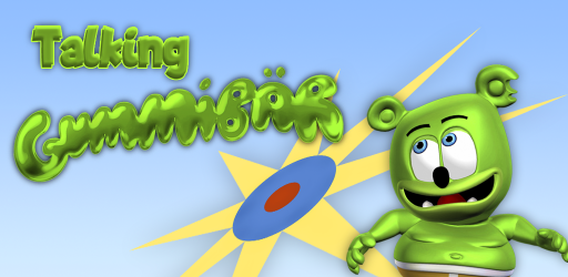 Captura de Pantalla 2 de Talking Gummy Free Bear Games for kids para android