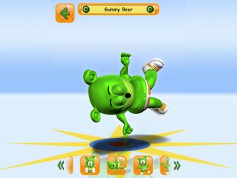 Captura de Pantalla 9 de Talking Gummy Free Bear Games for kids para android