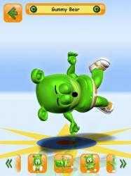Captura de Pantalla 12 de Talking Gummy Free Bear Games for kids para android