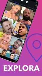 Captura 6 de Wapo: app de citas gay para hombres; chatea, queda para android