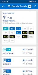 Captura de Pantalla 4 de EMT Madrid para android