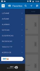 Captura de Pantalla 2 de EMT Madrid para android
