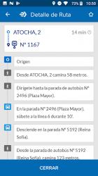 Captura de Pantalla 7 de EMT Madrid para android