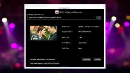 Captura 8 de YTMP3 - YouTube to Mp3 Downloader para windows