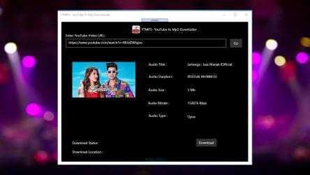 Captura de Pantalla 9 de YTMP3 - YouTube to Mp3 Downloader para windows